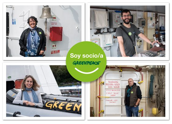 De arriba-izquierda a abajo-derecha: Eva, 27 años como socia; Arkaitz, socio desde 2002; Susana, socia desde 1988 y Jesús María, 22 años como socio