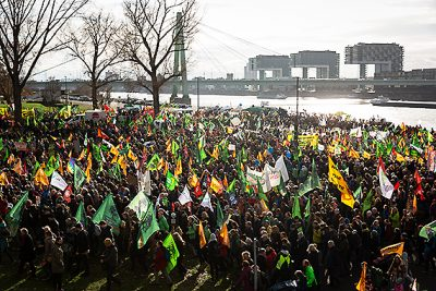 Manifestaciones en Alemania