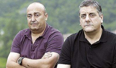 Luis y Juan, exmineros de Asturias