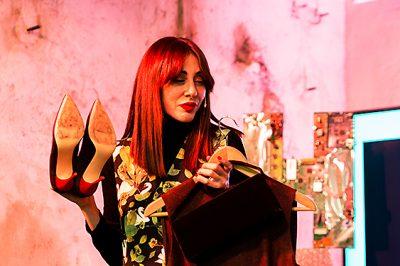 Natalia Ferviú, estilista y presentadora de televisión